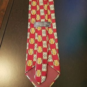 Dior Accessories - Christian Dior Cravate Silk Tie